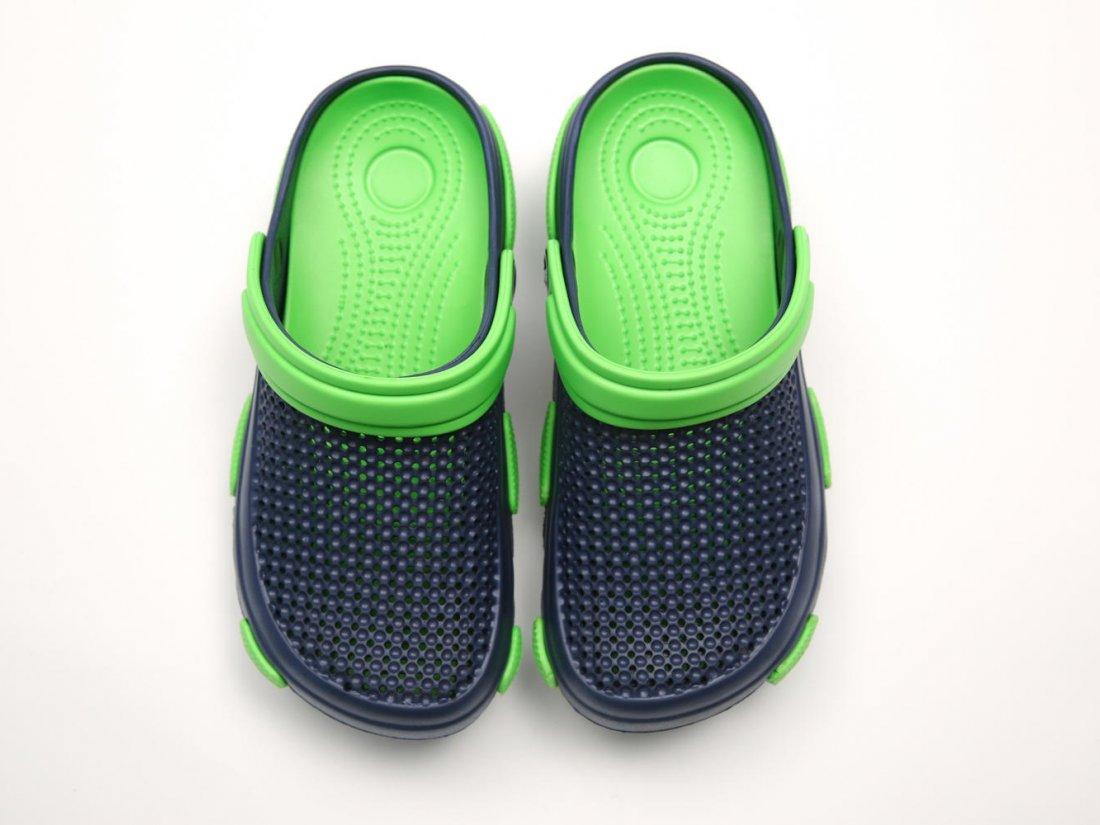 Синие кроксы оптом C24-45, 4rest, мужская обувь оптом, фото 2