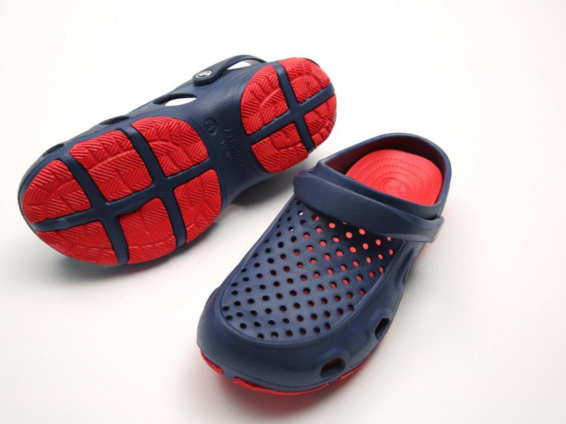 Синие кроксы оптом C22-40, 4rest, женская обувь оптом, фото 3