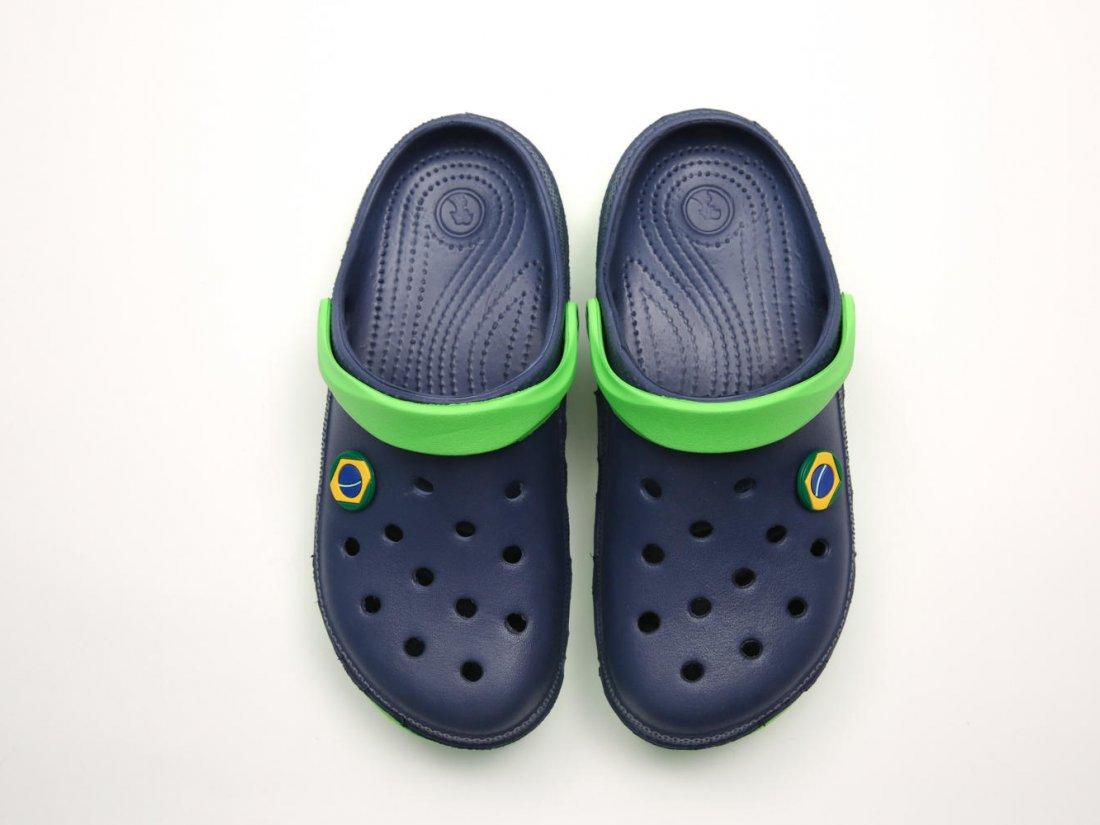 Синие кроксы оптом C28-45, 4rest, мужская обувь оптом, фото 2