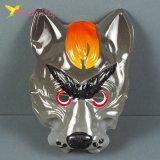 Детская пластиковая маска на утренник Волк оптом фото 1179