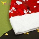 Новогодняя шапка Деда Мороза бантики, оптом фото 1