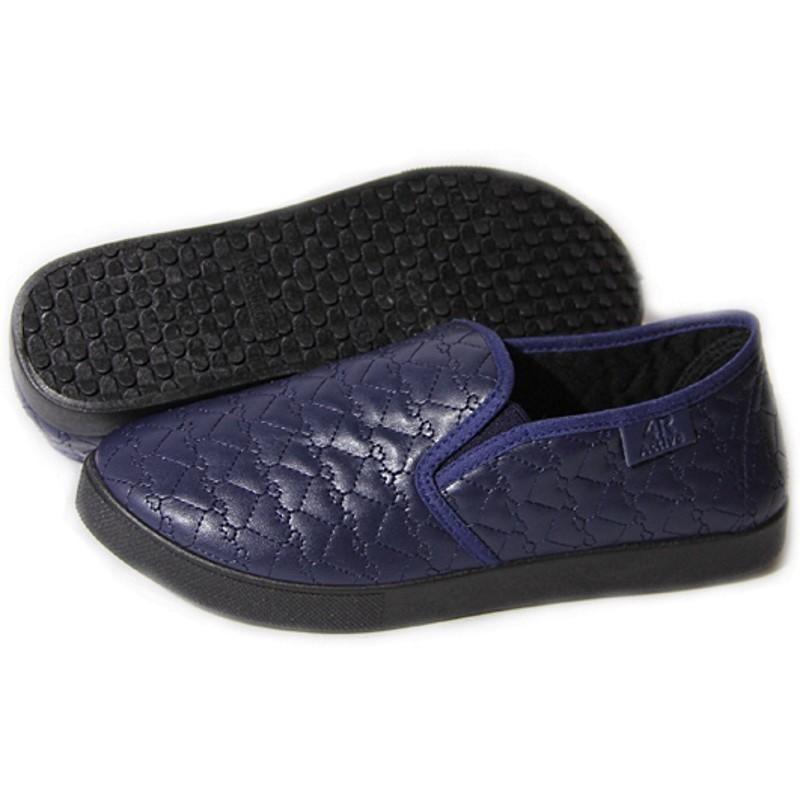 Женские слипоны оптом 27/2-03 PUW синие (36-41), 4rest, обувь оптом, фото - 2