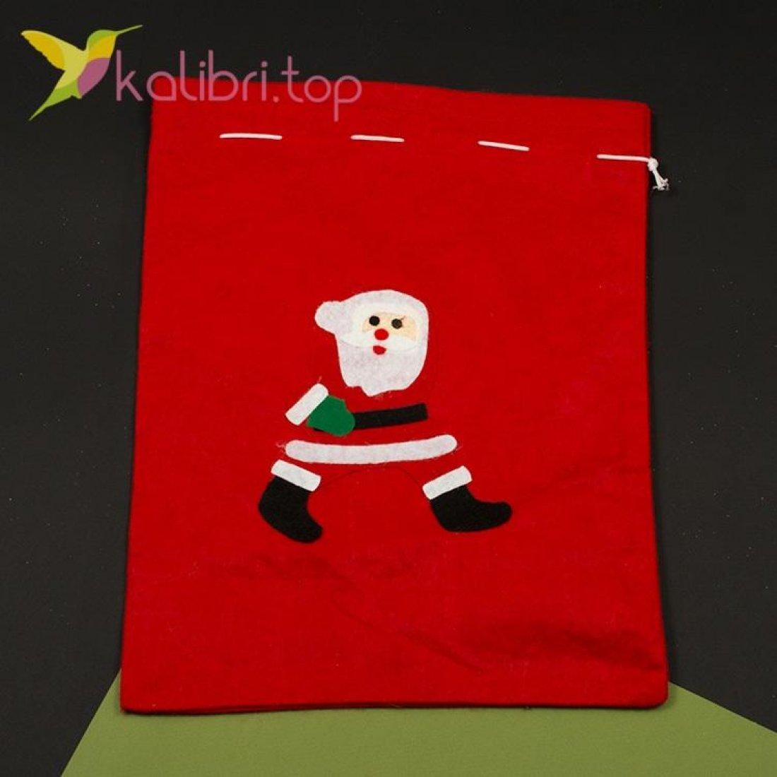 Мешок для подарков средний микс, оптом фото 5