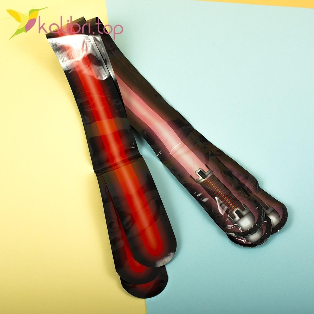 Самонадувающиеся мечи Сабля красный оптом фото 2