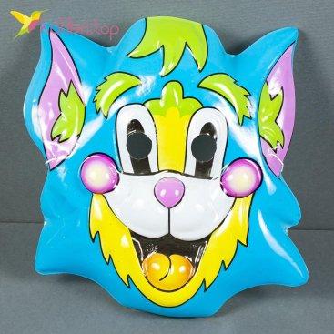 Карнавальная детская маска Котик оптом фото 937