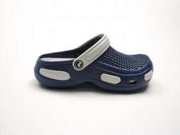 Синие кроксы оптом C19-45, 4rest, мужская обувь оптом, фото 1
