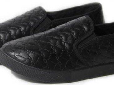Женские слипоны оптом 27/2-03 PUW черные (36-41), 4rest, обувь оптом