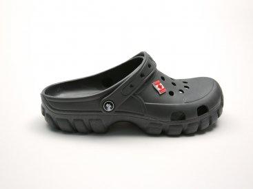 Графитовые кроксы оптом C23-45, 4rest, мужская обувь оптом, фото 3