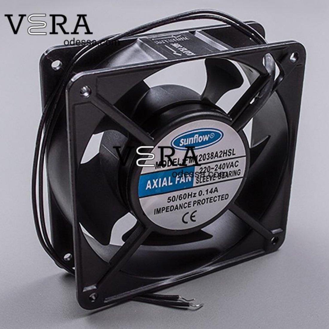 Купити кулер - вентилятор охолодження 120 * 120 * 38 оптом, фотографія 1