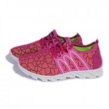 купить женские розовые кроссовки сеточкой, женская обувь оптом