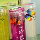 Лизун-слайм с бабочками оптом фото 1