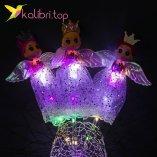 Светящиеся LED палочки девочки принцессы фиолетовые оптом фото 12