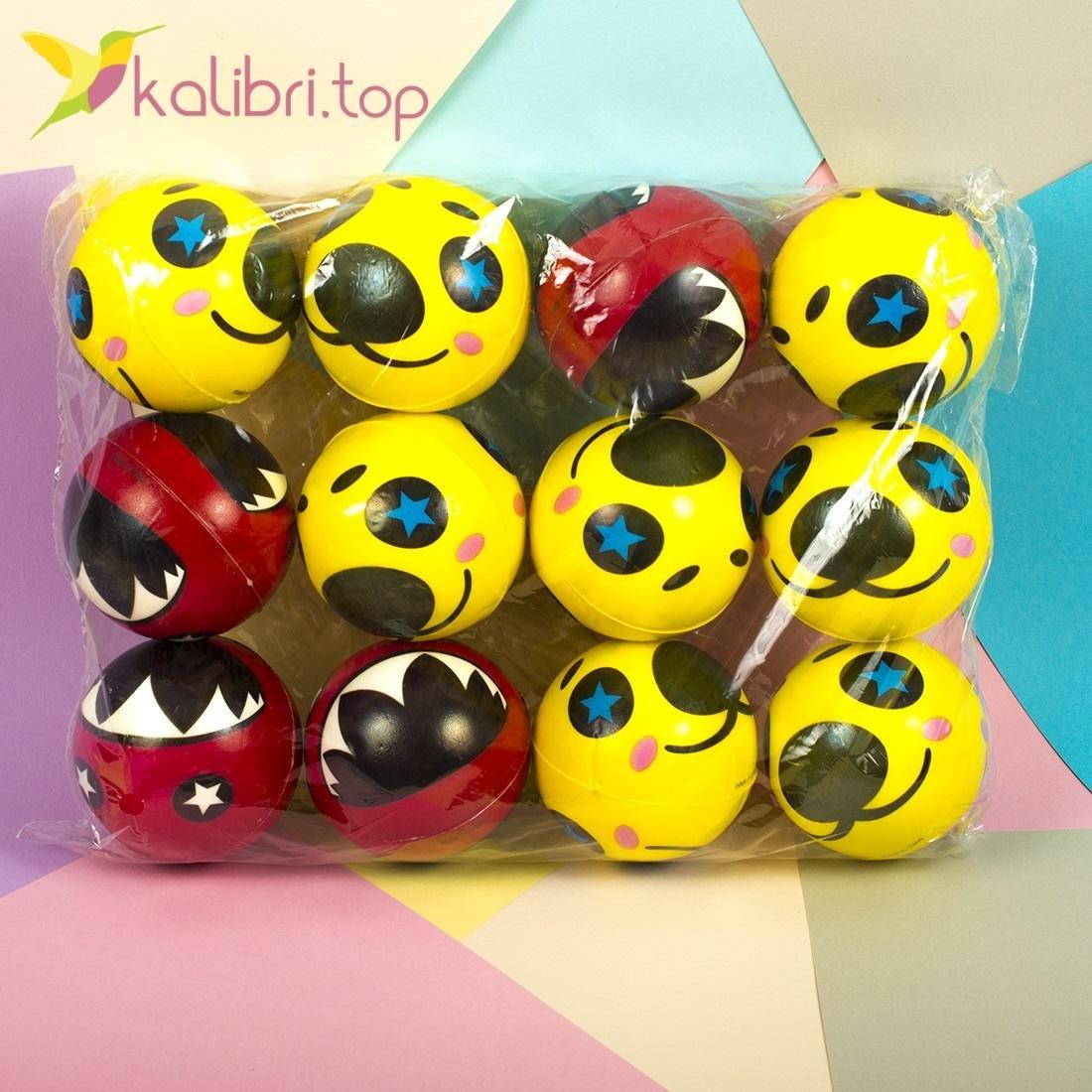 Мячики мягкие, поролоновые Морды, оптом - фото 2