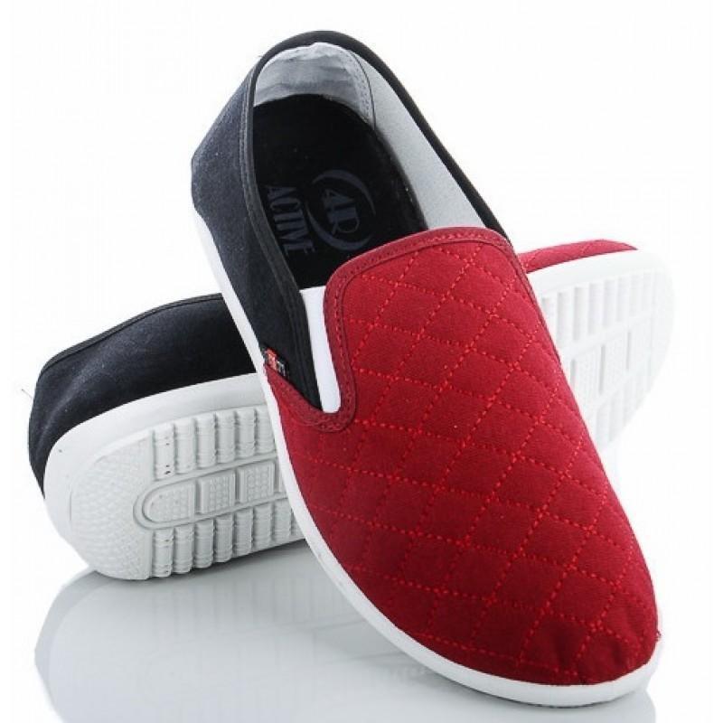 Мужские слипоны оптом 13-15/2 М красные, 4rest, обувь оптом