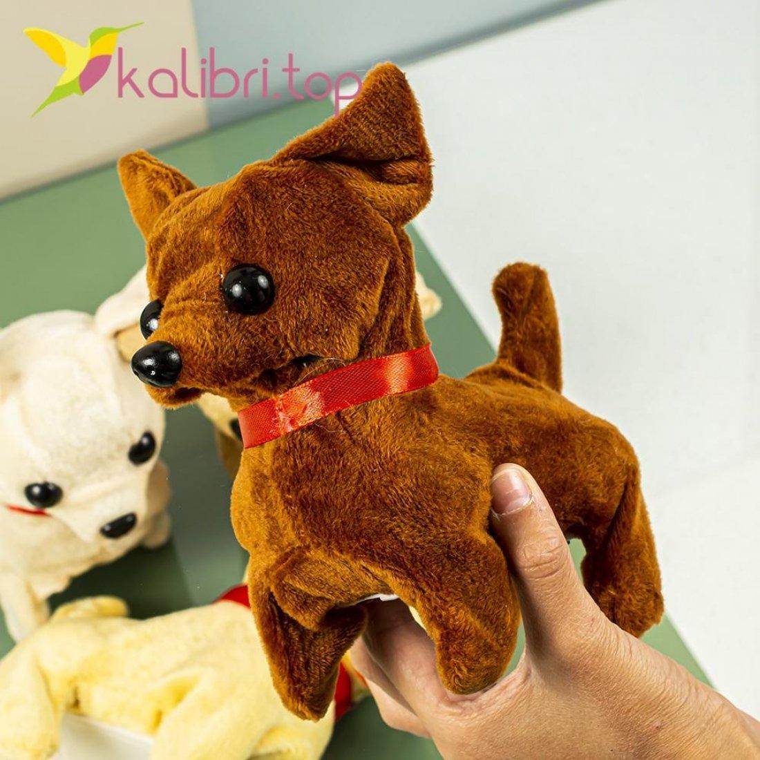 Интерактивная игрушка собачка Чихуахуа оптом фото 0014