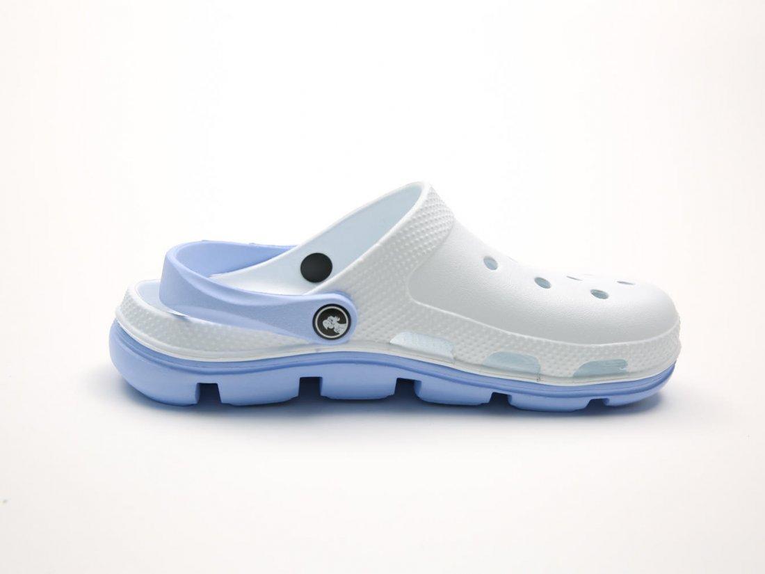 Белые кроксы оптом C32-45, 4rest, мужская обувь оптом, фото 1