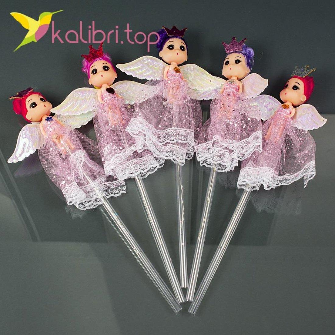 Светодиодные палочки девочки принцессы розовые оптом фото 7453