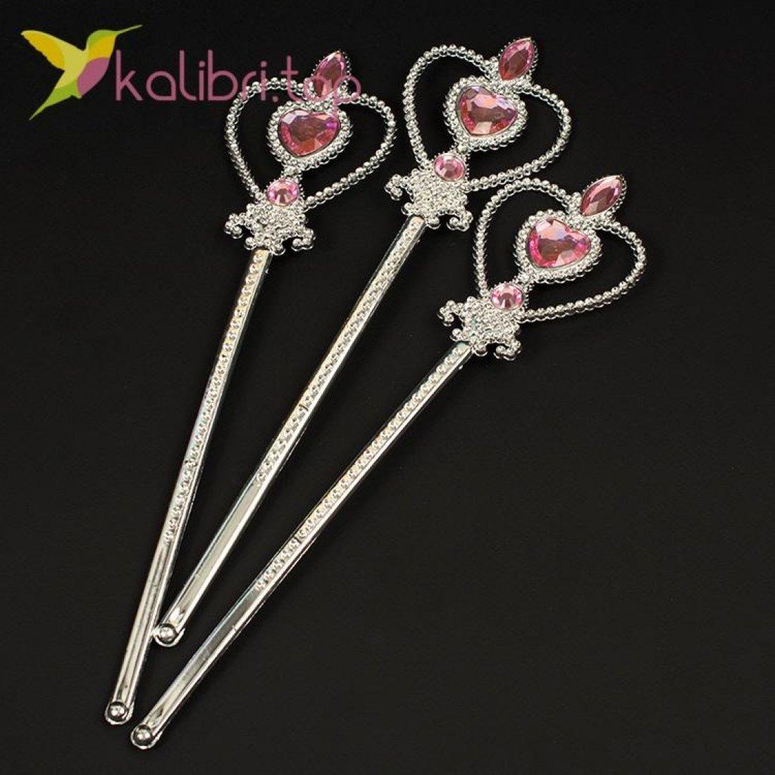 Волшебная палочка Сердечко розовый, оптом фото 1