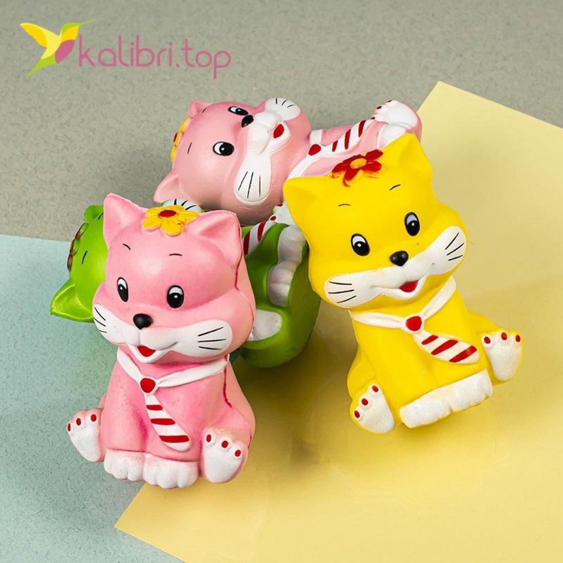 Детская игрушка сквиш Котик оптом фото 600
