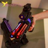 Игрушечный пистолет светящийся, звуковой двойной оптом фото 7441