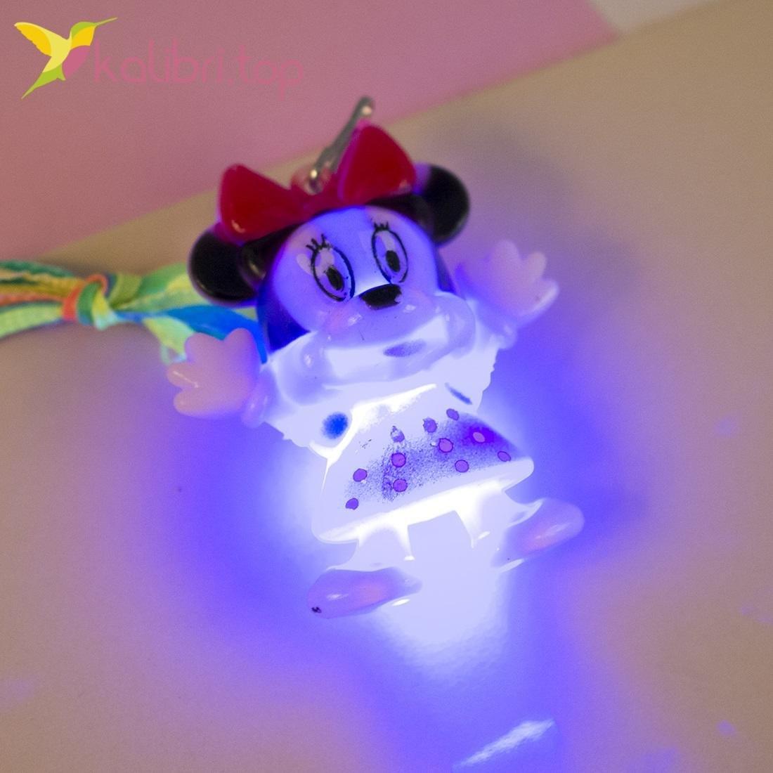Детский светящийся кулон Мышки, оптом - фото 3