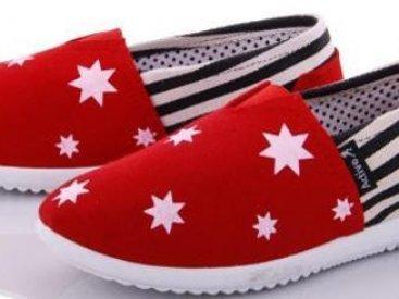 Женские мокасины оптом 16-45 W красные, 4rest, обувь оптом