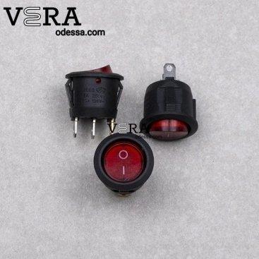 Купить кнопка с подсветкой 5 А оптом, фотография 1