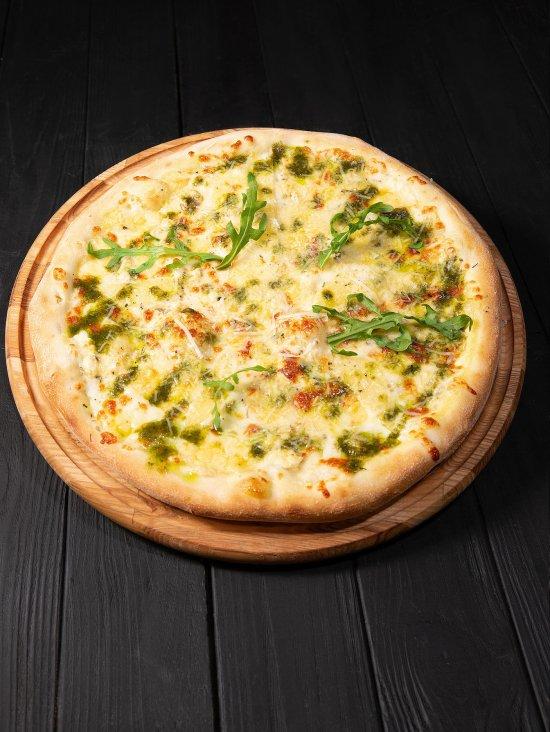Доставка пиццы Совиньон 4 сыра, фото 1