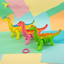 Механическая игрушка Брахиозавр, оптом фото 1