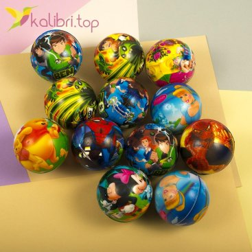 Мячики мягкие, поролоновые Дисней, оптом - фото 1