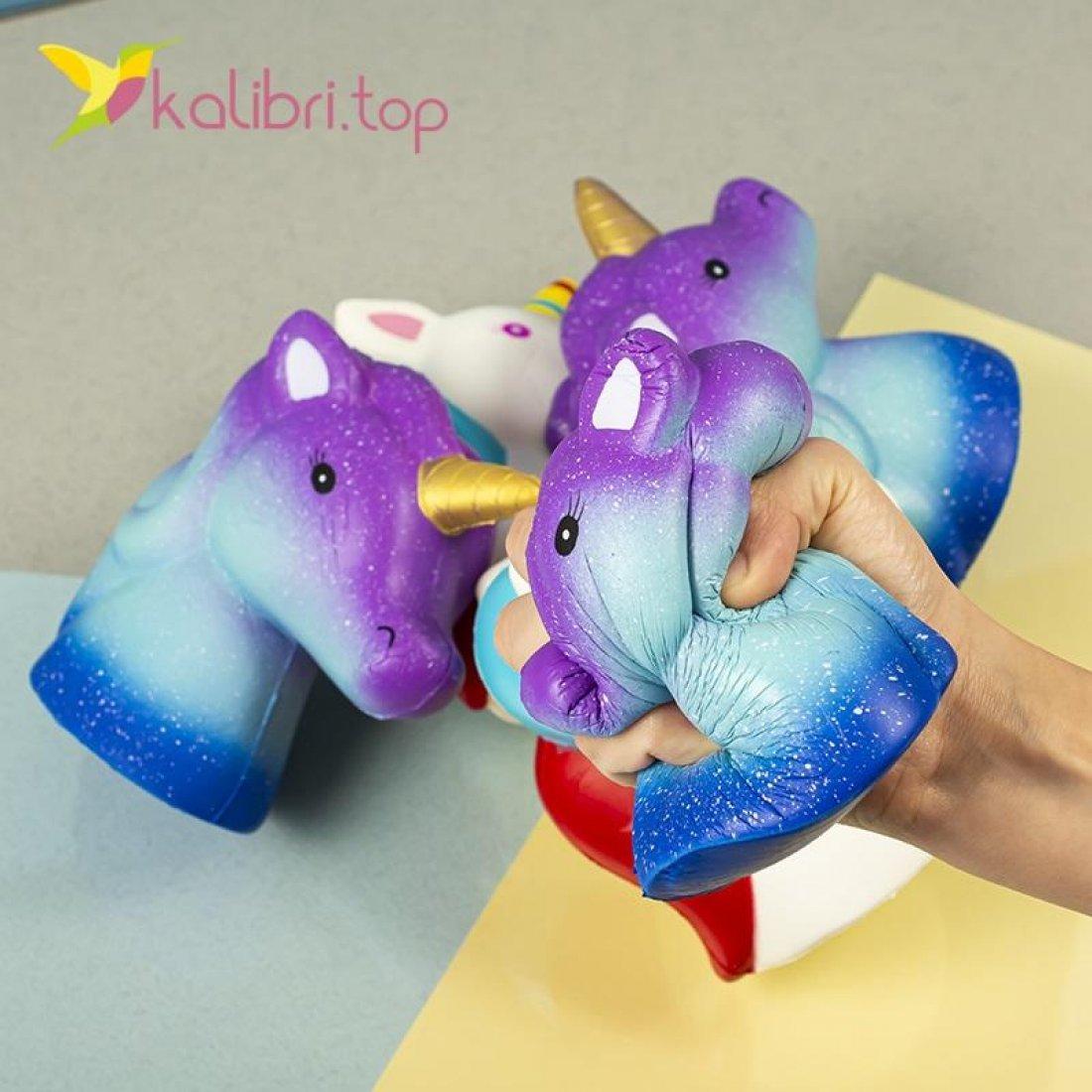 Мягкая игрушка сквиш Единорог оптом фото 99
