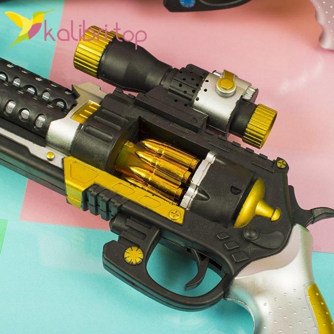 Светящийся пистолет Кольт оптом фото 2
