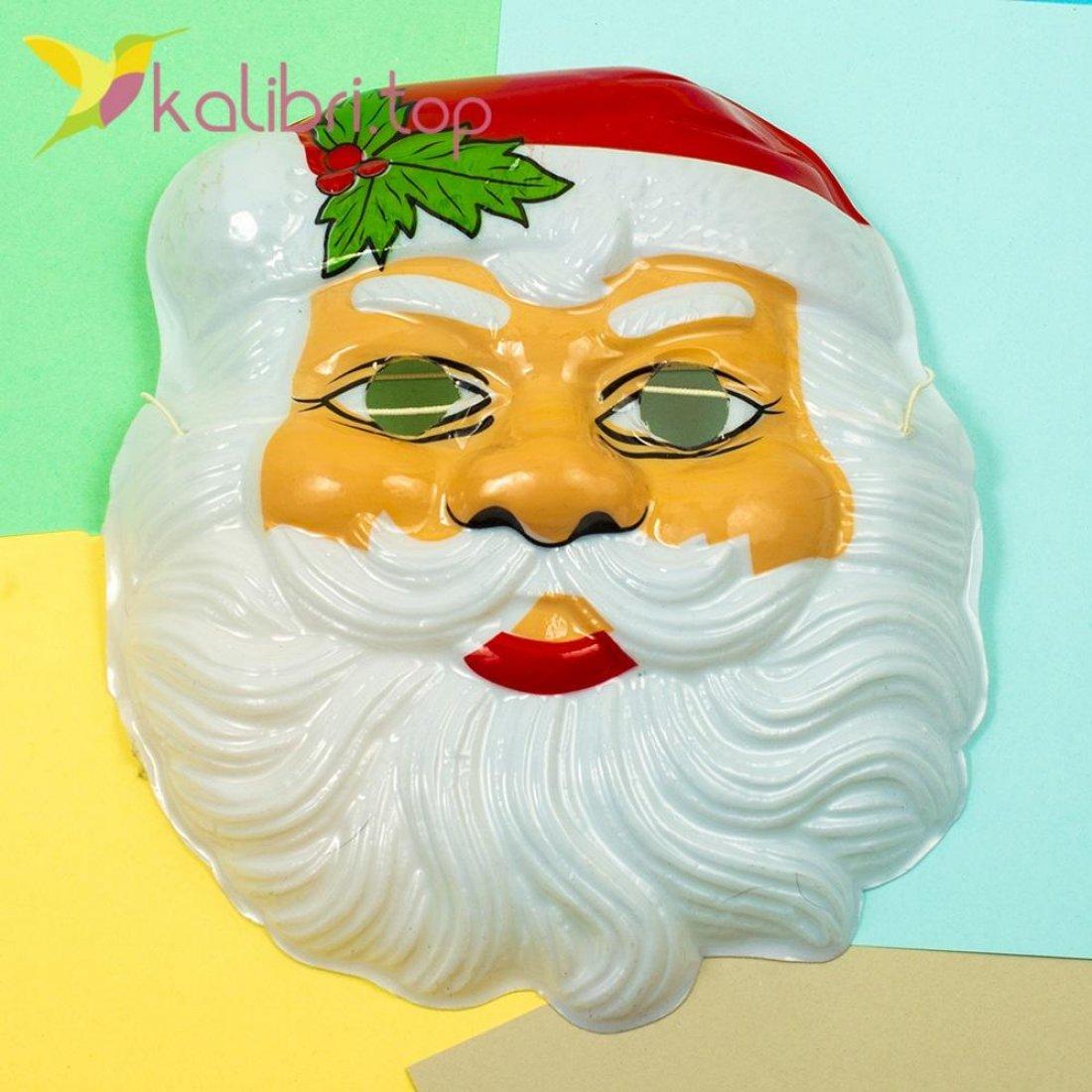 Детская маска Дед Мороз оптом фото 1