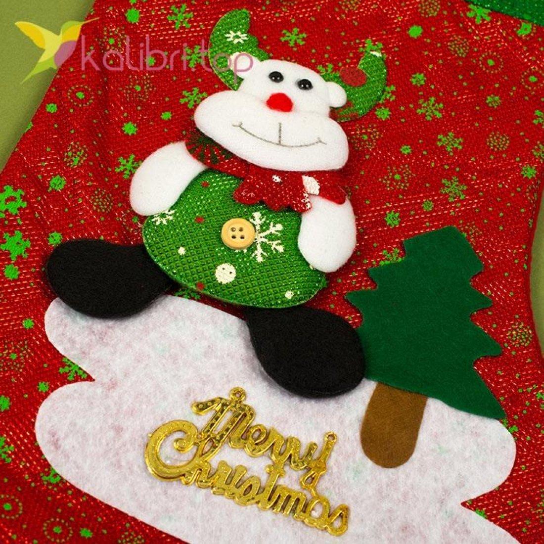 Сапожок для подарков большой микс 3, оптом фото 2