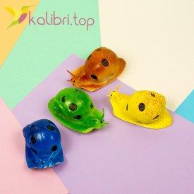 Детская игрушка антистресс Улитка - фото 1