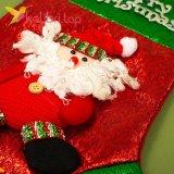 Сапожок для подарков большой с Дедом Морозом, оптом фото 2