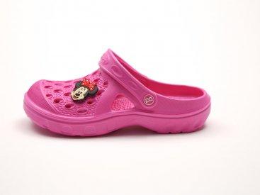 Розовые кроксы оптом C15-34, 4rest, детская обувь оптом, фото 1