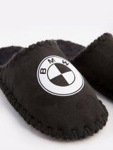 Мужские домашние тапочки BMW черные закрытые, Family Story - 3