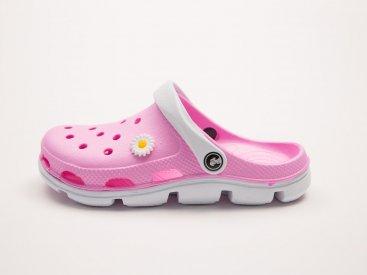 Розовые кроксы оптом C01, 4rest, женская обувь оптом, фото 1