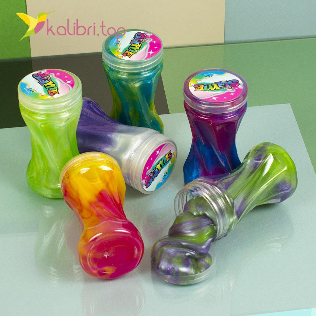 Детская игрушка слайм цветной оптом фото 1