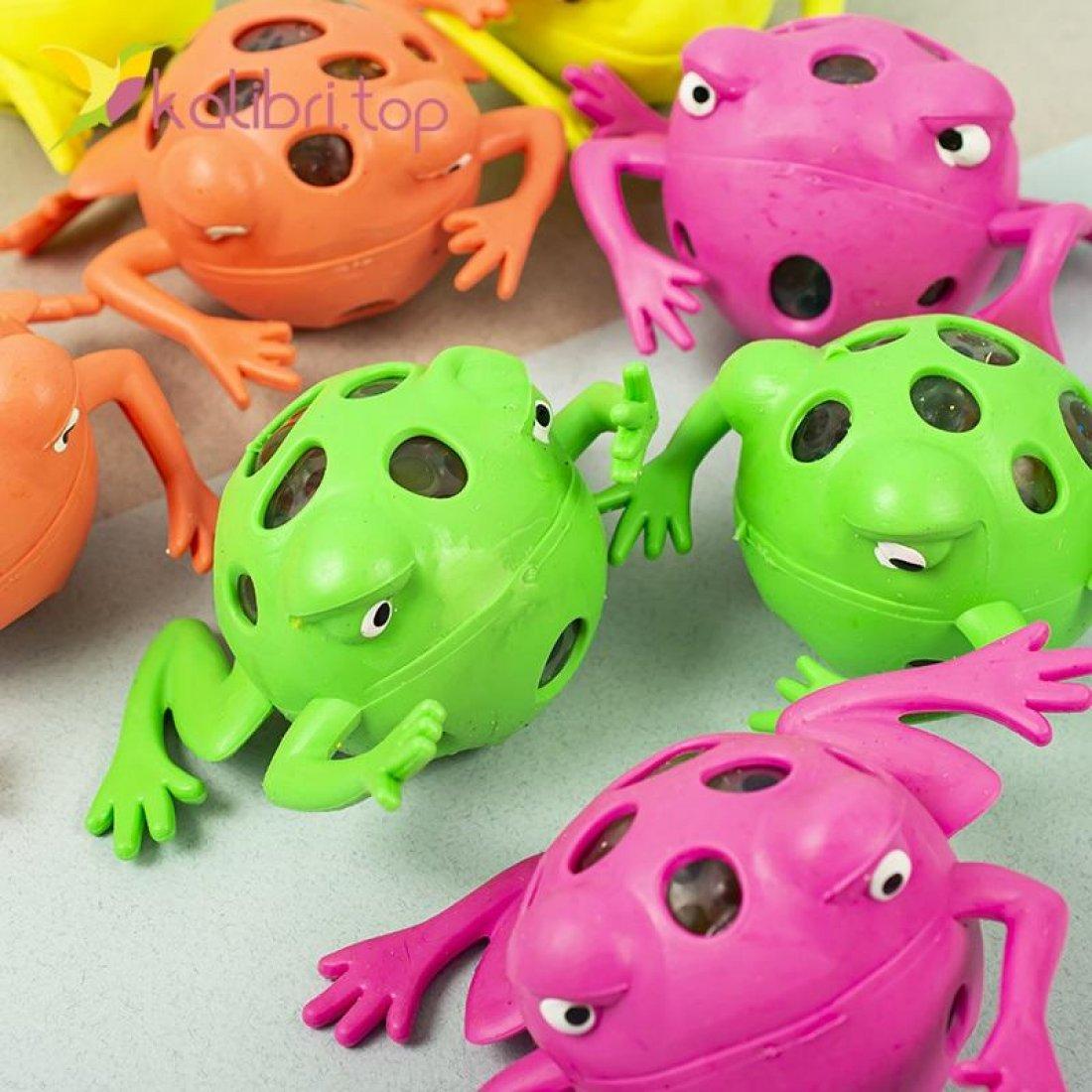 Игрушки антистресс с орбизами жабы оптом фото 5