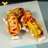 Мягкая игрушка сквиш хот-дог оптом фото 25