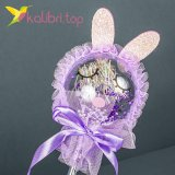 Светящиеся палочки зайцы фиолетовый оптом фото 043