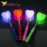 Светящиеся сахарная палочка Сердечко оптом фото 012