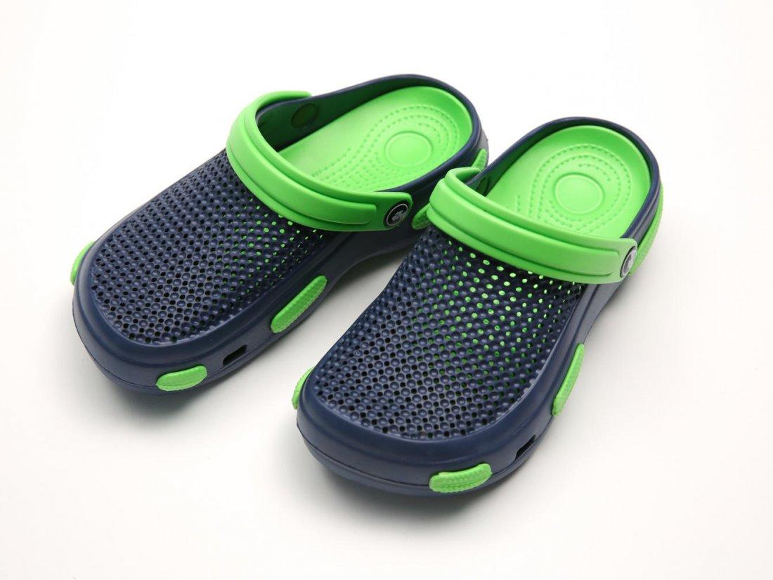 Синие кроксы оптом C24-40, 4rest, женская обувь оптом, фото 2