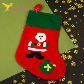 Носок для подарков большой Николай, оптом фото 2