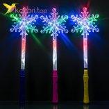 Светящиеся палочки снежинка прозрачная оптом 6966