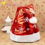 Шапки Деда Мороза блеск HQ-1635 оптом фото 424