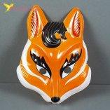 Детская пластиковая маска на утренник Лисичка оптом фото 24