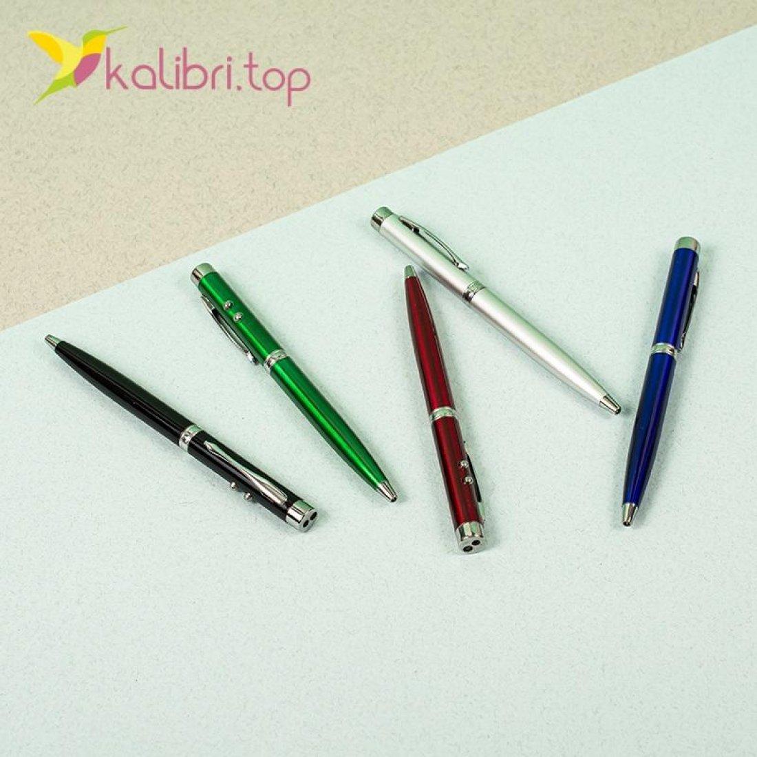 Ручка Лазерная указка 3 в 1 оптом фото 2